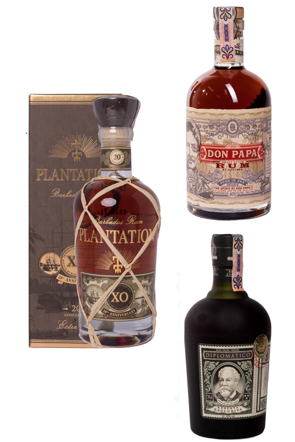 Premium rum pack