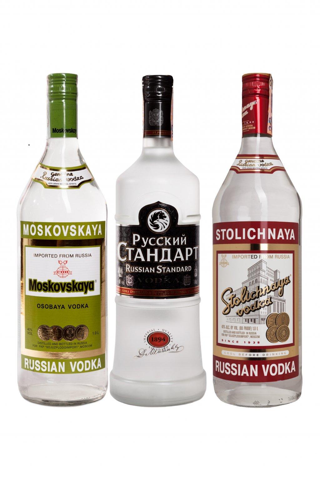 Russian Vodka pack