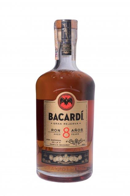 BACARDI 8 YO 0.70L 40%  + K produktu darček grátis