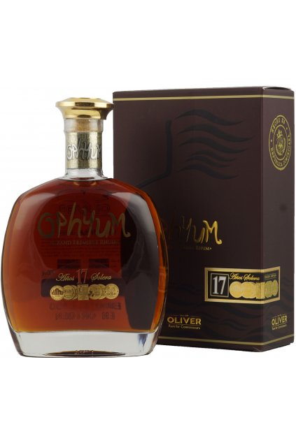 Ophyum Rum 17 Jahre 0 7l 40 .8966a