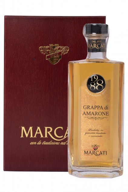 GRAPPA MARCATI AMARONE RISERVA 1988 0.50L 40%  + K produktu darček grátis