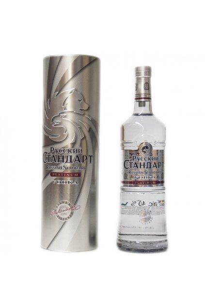 russian standard platinum gb 1000ml 40 vol.