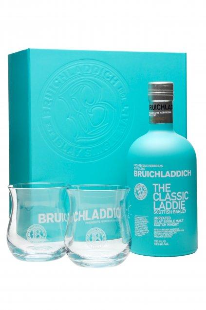 Bruichladdich classic laddie s 2 poharmi