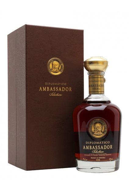 DIPLOMATICO AMBASSADOR 0.70L 47%  + K produktu darček grátis