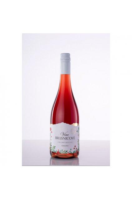 brusnicove vino