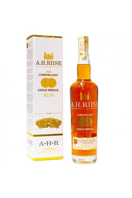 a h riise 1888 gold medal premium rum 40 07l