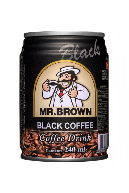 mr brown black coffee