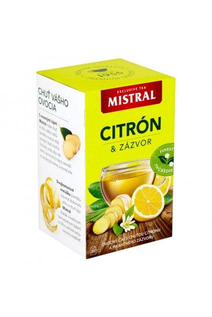 mistral citron zazvor