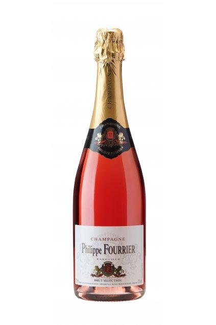 Brut Sélection Rosé Champagne Ph Fourrier