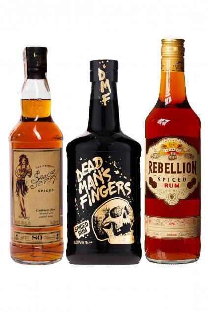 Spiced rum pack
