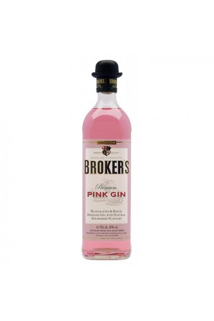 brokers pink gin