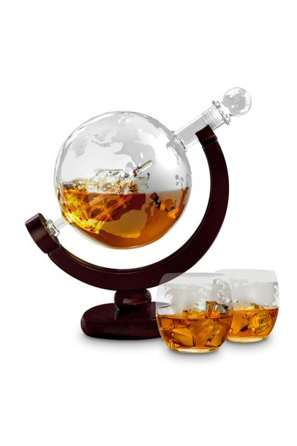 Globe decanter 4