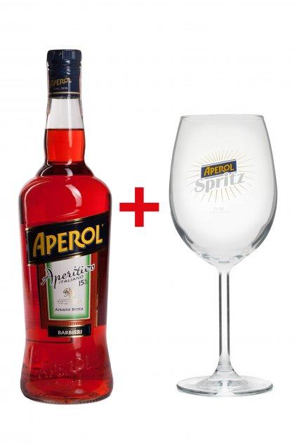 Aperol + Pohar