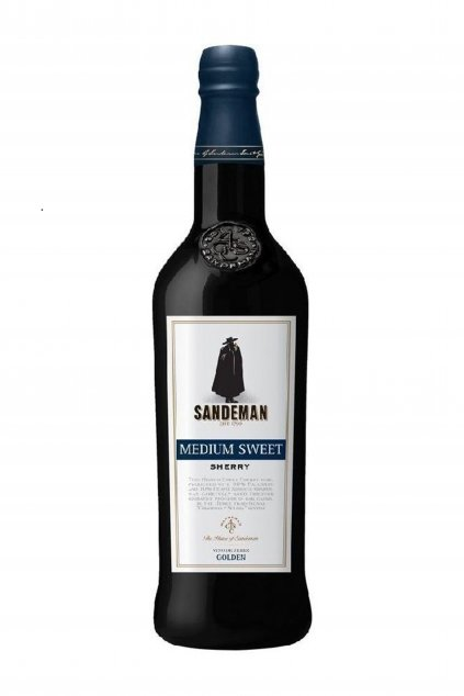 Sandeman sherry rich golden