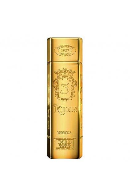 vodka 3kilos gold
