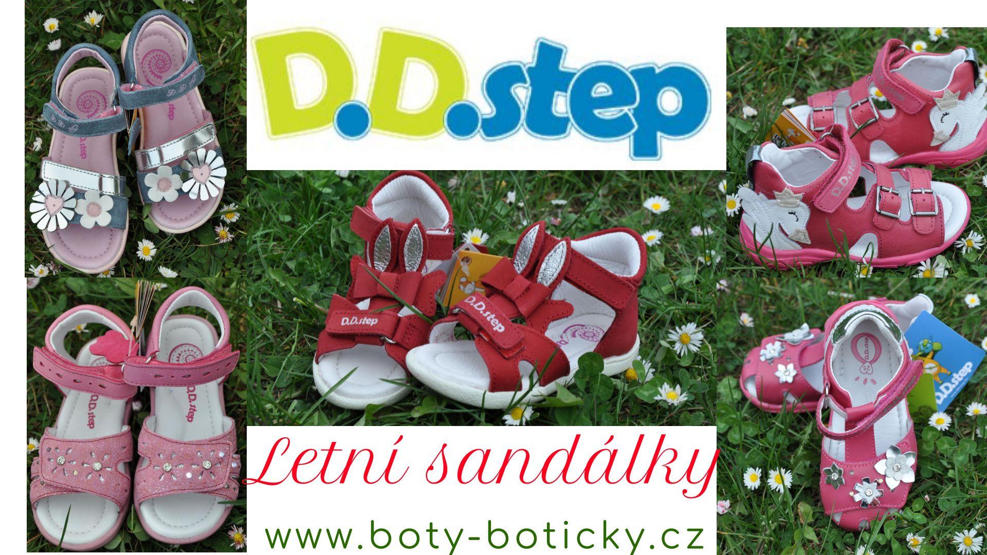 Sandálky D.D.Step