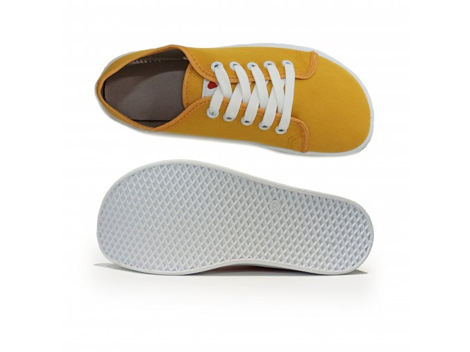 žluté barefoot tenisky