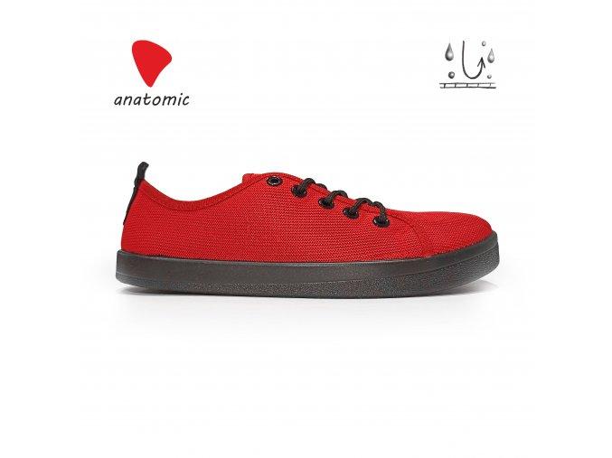 ANATOMIC ALL IN AD02 - celé černé barefoot vysoké tenisky