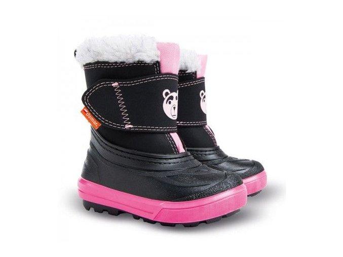 Dětské zimní boty, dětské sněhule, sněhule demar, sněhule demar bear, akce sněhule, levné sněhule, dětské teplé sněhule, sněhule ovčí vlna