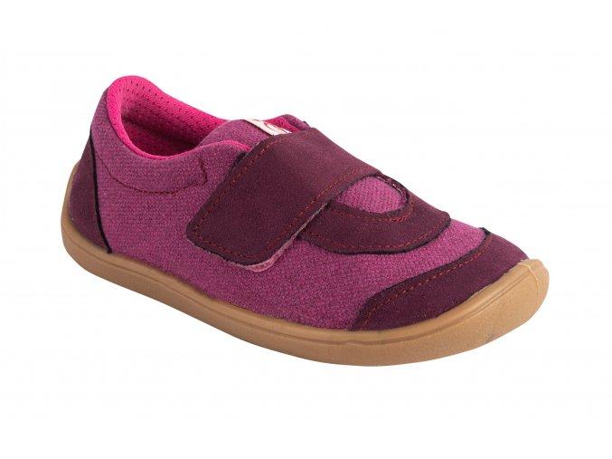 3BE29/3 růžové barefoot tenisky