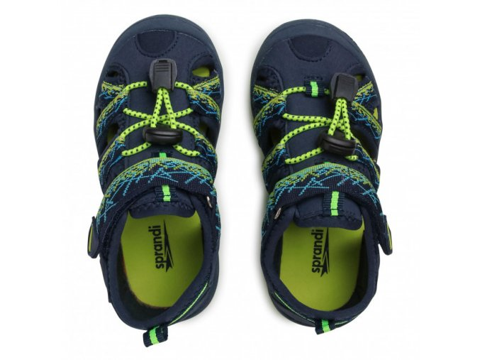 Sprandi CP92-21072(III)CH sportovní sandále modro-zelené