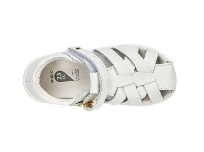bobux tropicana white