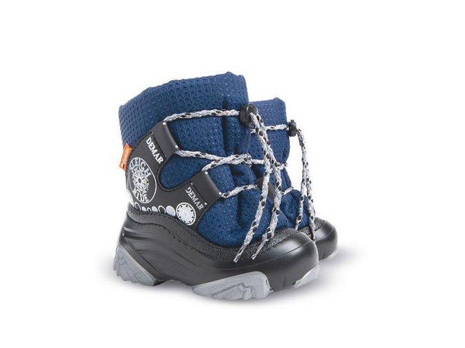 Dětské zimní boty, dětské sněhule, sněhule demar, sněhule snow ride, sněhule šněrování, akce sněhule, levné sněhule, dětské teplé sněhule, sněhule ovčí vlna