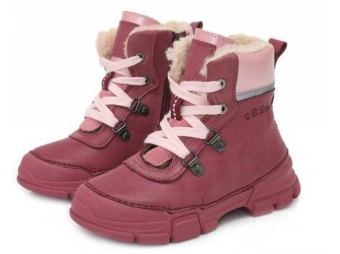 dětské zimní boty D.D.step, zimní barefoot boty, ddstep zimní, D.D.Step zimní boty na zip 056-3CM, D.D.Step zimní, zimní boty akce