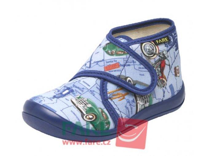 Fare backory modre 4113401 , fare papuce