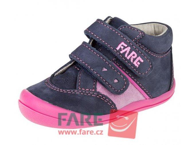 Fare dětské celoroční kotníkové boty 2121203 dívčí holka