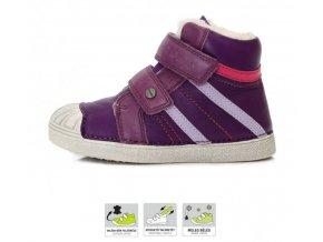 dětské zimní boty D.D.step, zimní barefoot boty, ddstep zimní, D.D.Step zimní boty 043-515L, D.D.Step zimní, zimní boty akce, zimní boty ddstep velikost 35