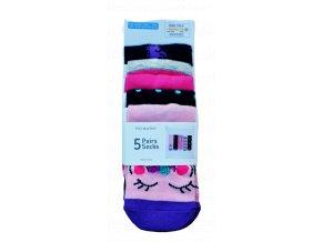 primark ponožky jednorožec