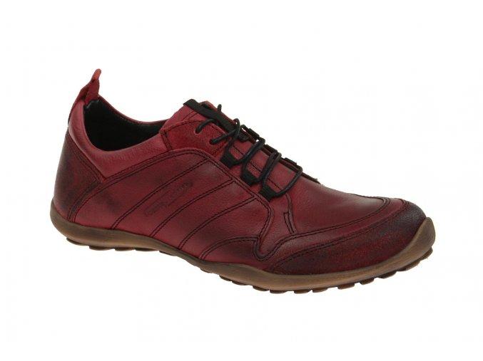 camel active Damen Sneakers TRAIL Schuhe in dunkel rot Glattleder online versandfrei kaufen.