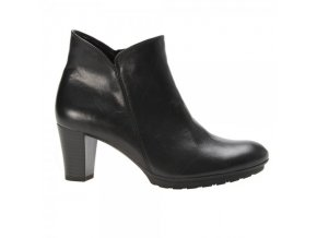 gabor angelina womens smart ankle boot in black leather 92 890 p12380 39870 image
