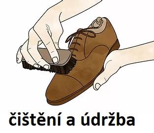 udržba obuvi