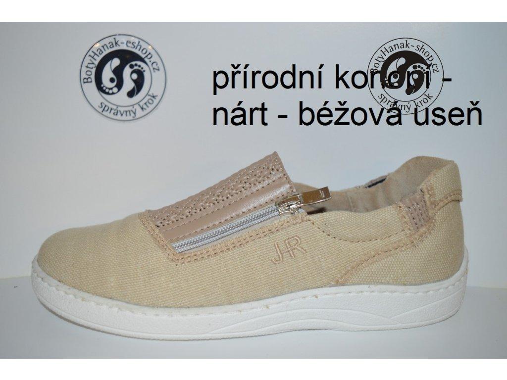 Boty Hanák IQ zip dámská - bílá podešev - BotyHanak-shop.cz 21605c61ce
