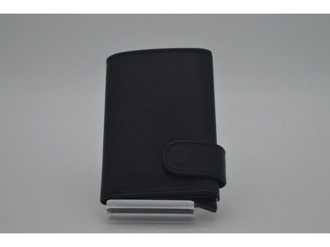 Kožená peněženka SPOCK černá s technologií RFID