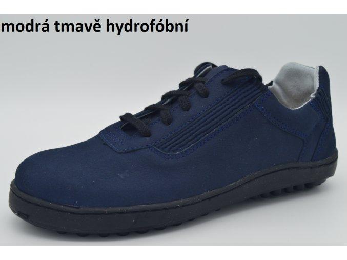 modrá tmavě hydrofóbní