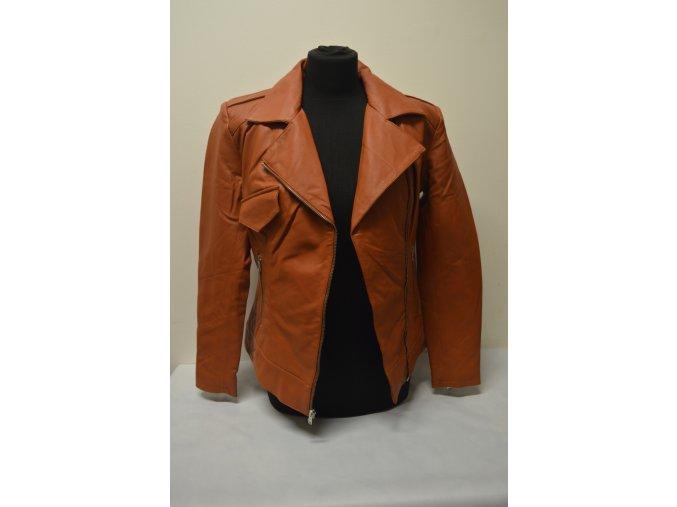 Kožená bunda dámská - křivák