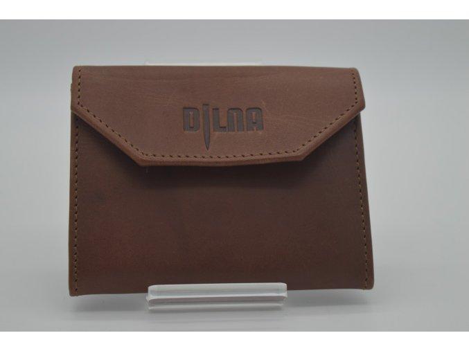 Dámská i pánská kožená peněženka na patent