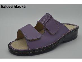 fialová hladká