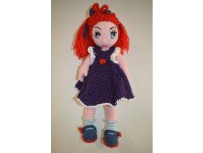 Háčkovaná hračka panenka Jindřiška