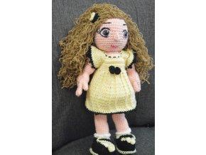 Háčkovaná hračka panenka Eliška