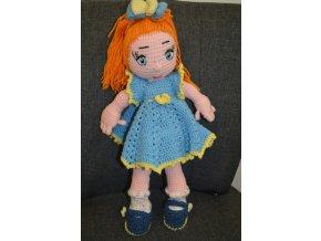 Háčkovaná hračka panenka Klárka