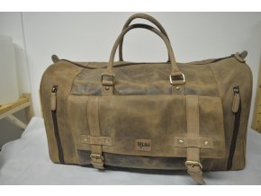 Cestovní kožená taška  DUFFEL BAG