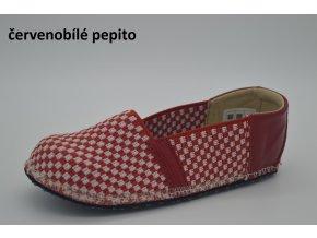 červenobílé pepito