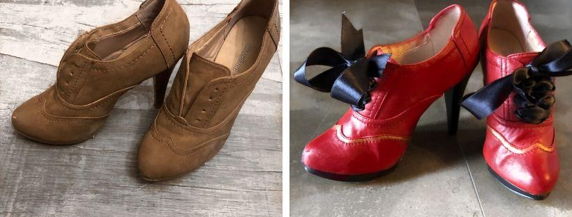 Jak nabarvit čarodějnické boty na Halloween