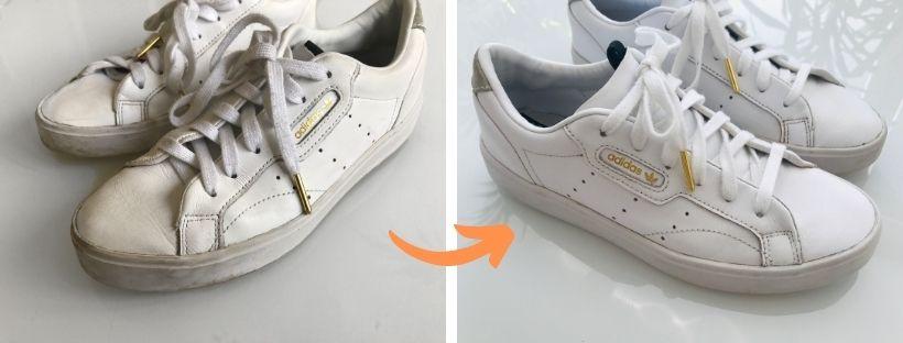 Jak vybělit boty?