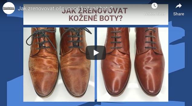 Video návod - Jak opravit ošoupané kožené boty?
