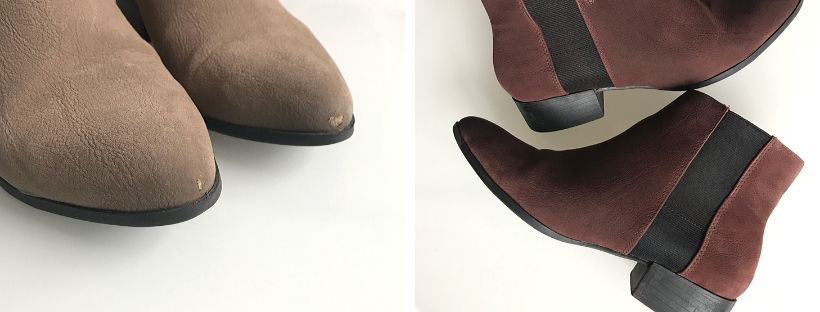 Koženkové zimní boty a jejich oprava i přebarvení